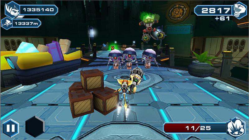 Ratchet & Clank tendrá versión para móviles con Before the Nexus