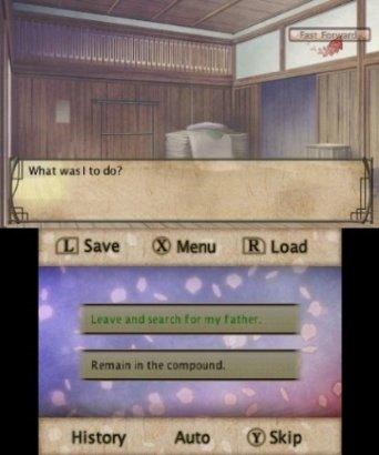 Hakuoki Memories of the Shinsengumi 3DS