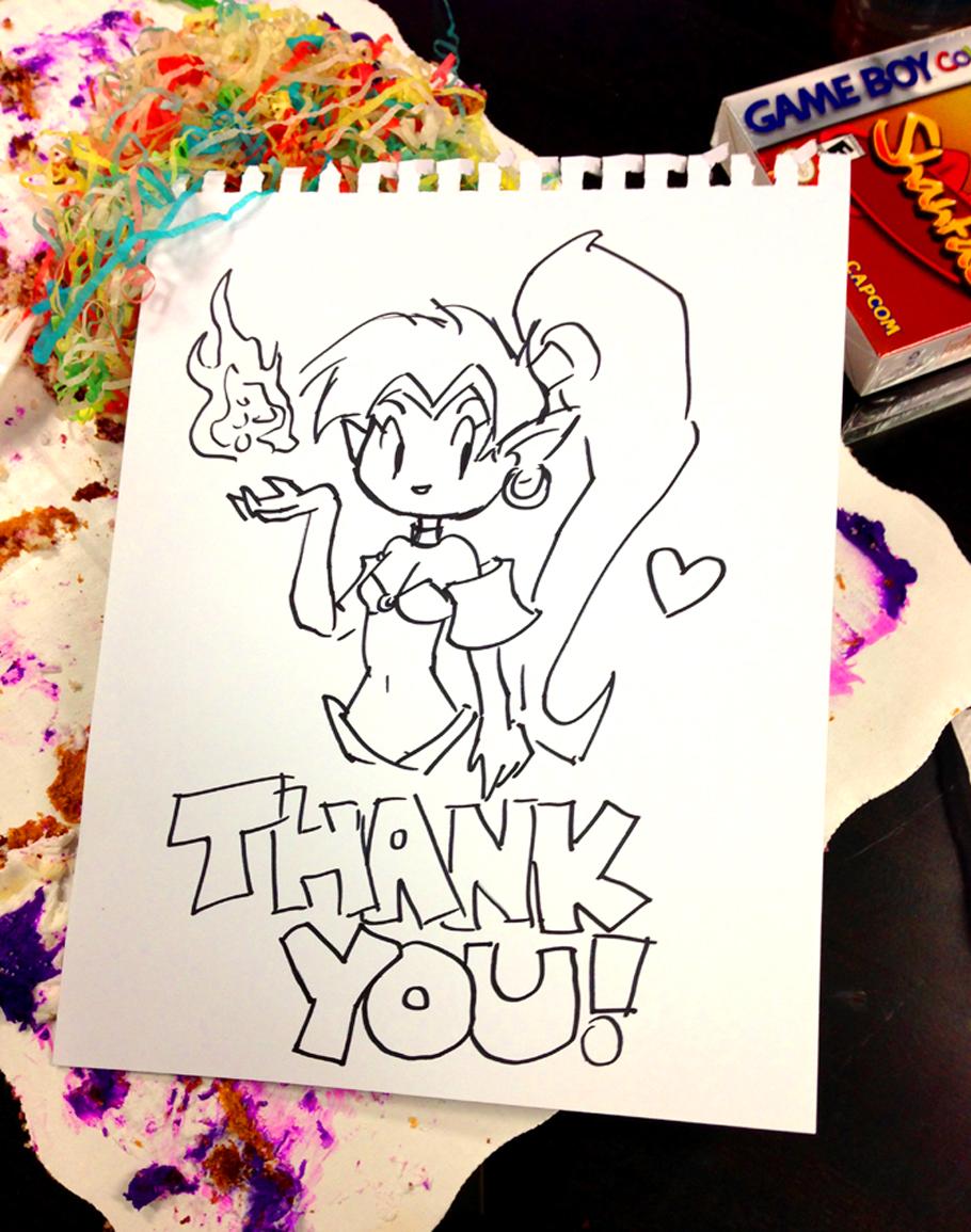 Shantae: Half-Genie Hero concluye con gran éxito su campaña de financiación colectiva