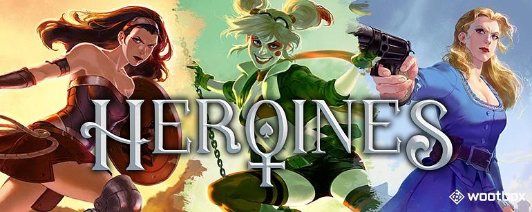 En mayo, ¡lucha junto a las Heroínas con Wootbox!