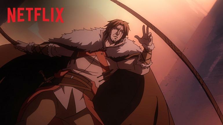 Imagen de la serie Castlevania de Netflix.