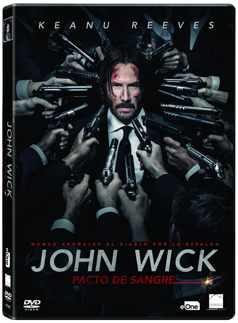 Sorteamos 5 mochilas de John Wick: Capítulo 3 - Parabellum y 5 DVD de John Wick: Pacto de sangre