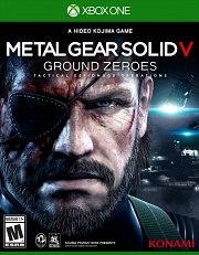 Carátula de Metal Gear Solid V: Ground Zeroes - Xbox One