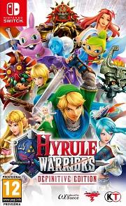 Carátula de Hyrule Warriors: Definitive Edition - Nintendo Switch