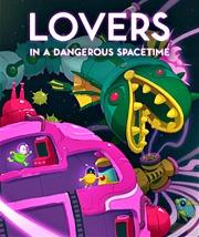 Carátula de Lovers in a Dangerous Spacetime - Nintendo Switch