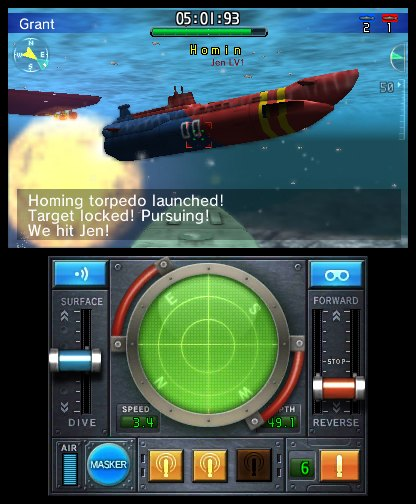 Steel Diver Sub Wars análisis