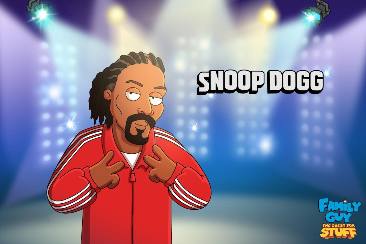 Family Guy: The Quest for Stuff contará con Snoop Dogg en un nuevo evento temporal