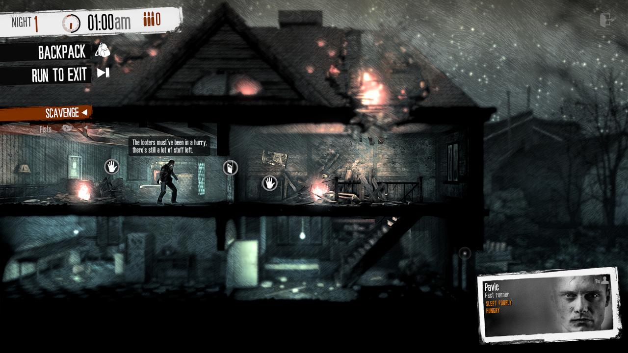 This War of Mine recibe fin de semana de juego gratis en Steam y nuevos contenidos en Nintendo Switch