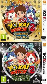 Carátula de Yo-kai Watch 2 - 3DS