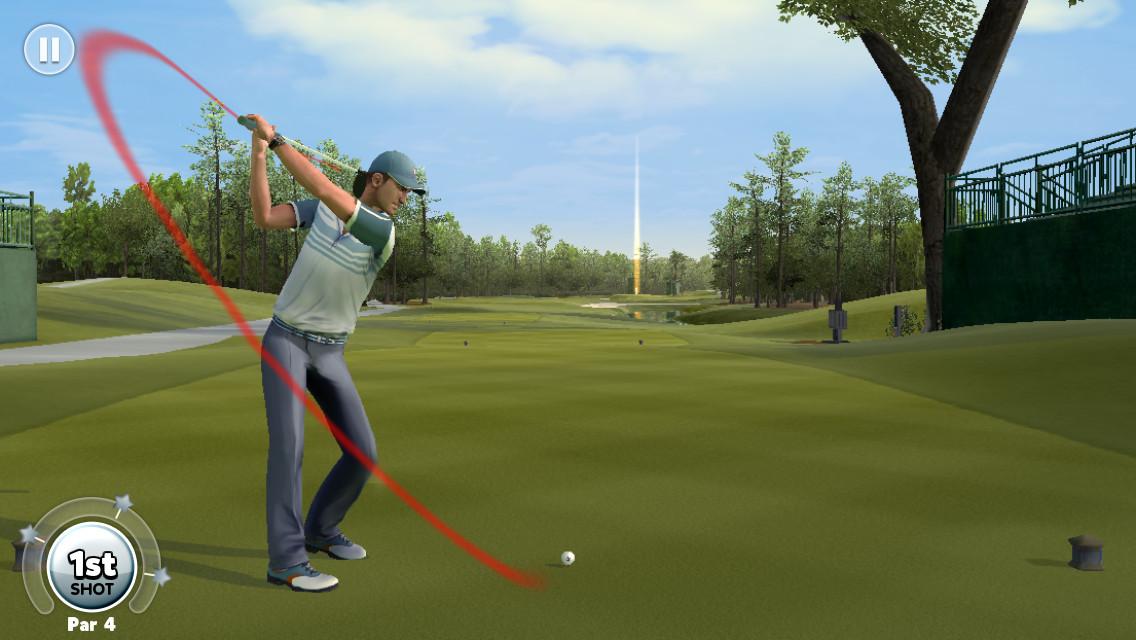 King of the Course es el videojuego de golf free-to-play de EA Sports para iOS