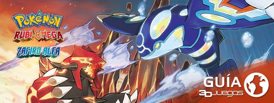Guía Pokémon Rubí Omega / Zafiro Alfa