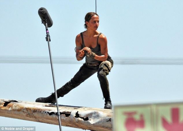 Mostradas las primeras imágenes de Alicia Vikander como Lara Croft