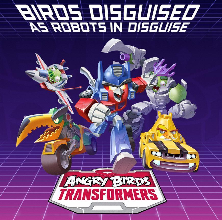 Nuevos detalles sobre Angry Birds Transformers