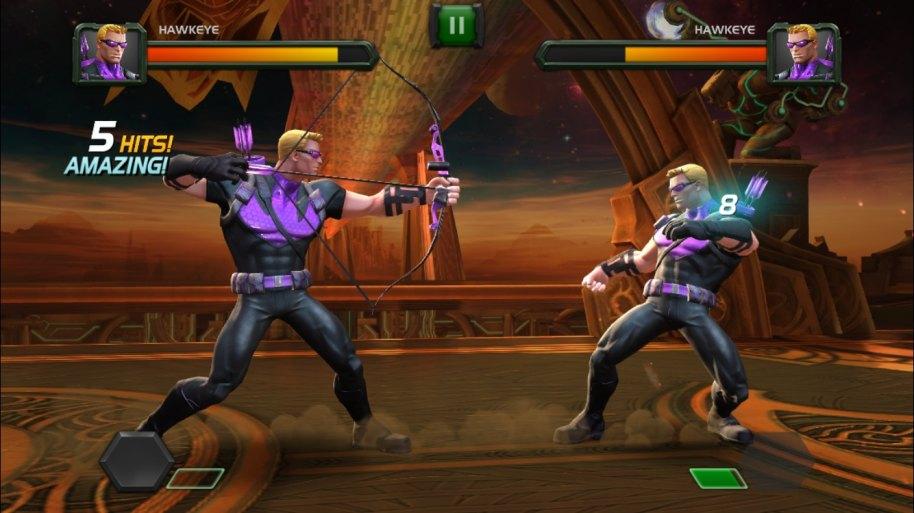 Marvel Batalla de Superhéroes Android