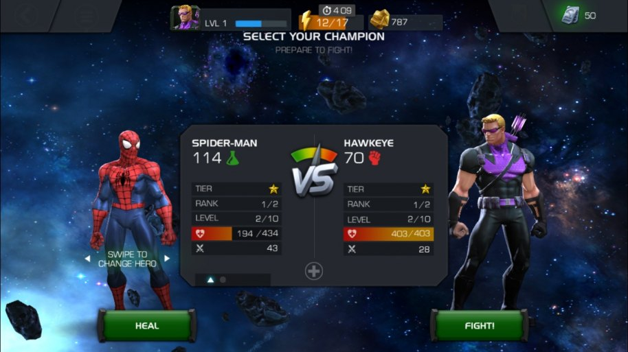 Marvel Batalla de Superhéroes análisis