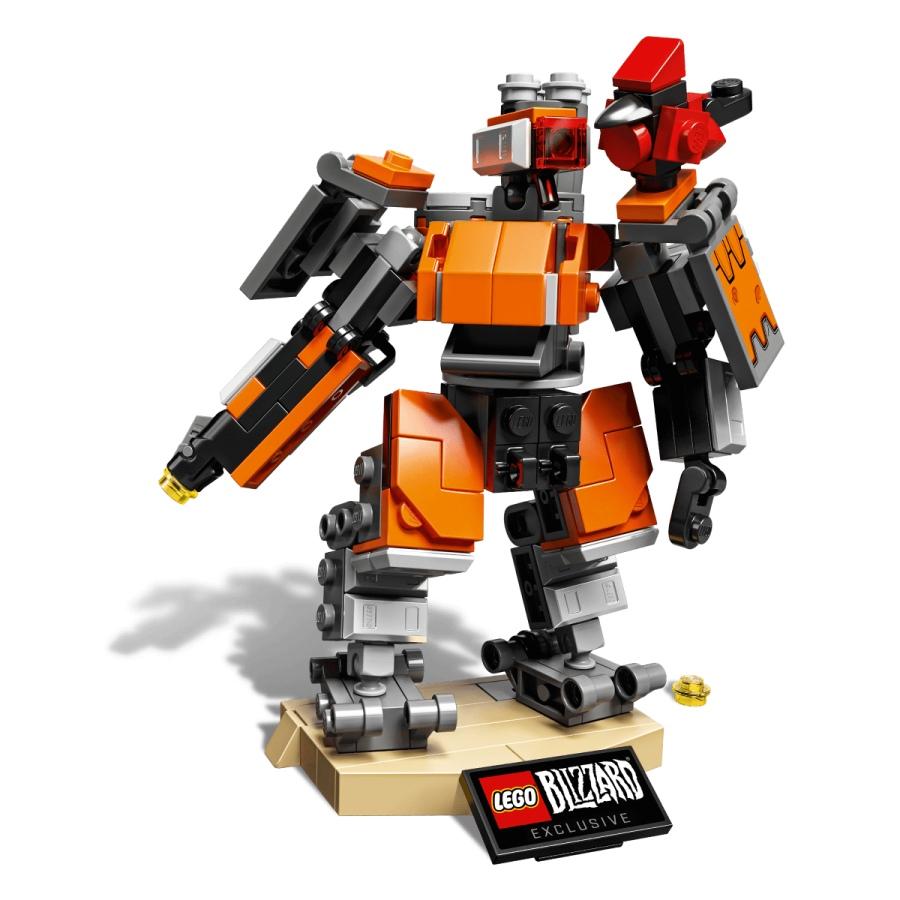 Así luce la versión LEGO de Bastion, héroe de Overwatch