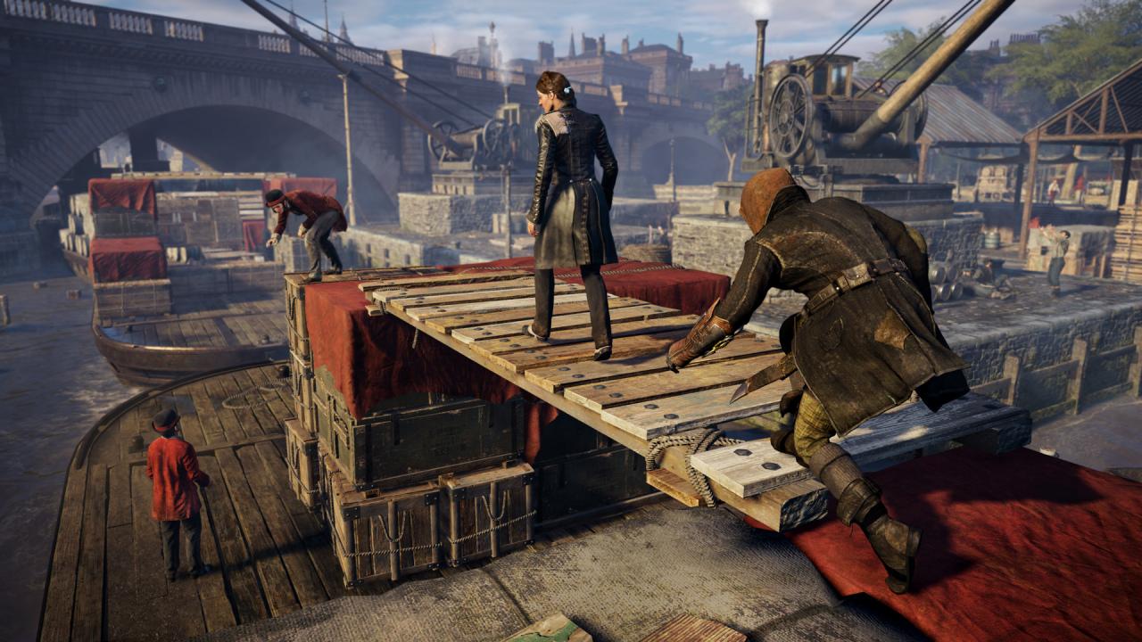 Assassin's Creed Syndicate es retrocompatible en PS5 pero está lleno de errores gráficos