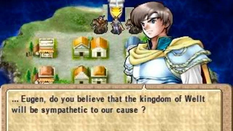 Tear Ring Saga: Chronicles of War Hero Yutona (PlayStation, 2001)