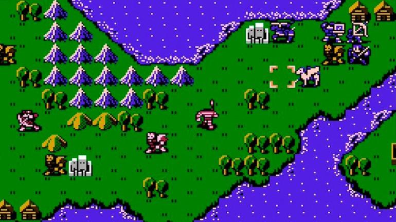 Fire Emblem: Shadow Dragon and the Blade of Light (Famicom, 1990)