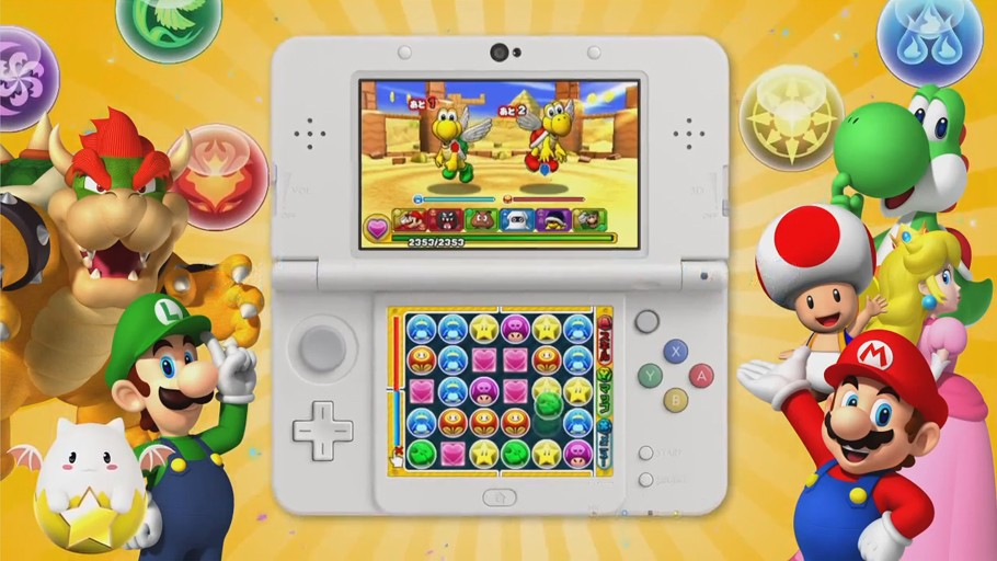 Puzzle & Dragons Z & Super Mario Bros 3DS