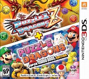 Carátula de Puzzle & Dragons Z & Super Mario Bros - 3DS