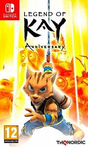 Carátula de Legend of Kay: Anniversary - Nintendo Switch