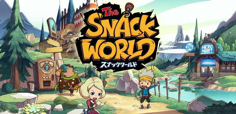 Snack World: De Mazmorra en Mazmorra - Edición de Oro