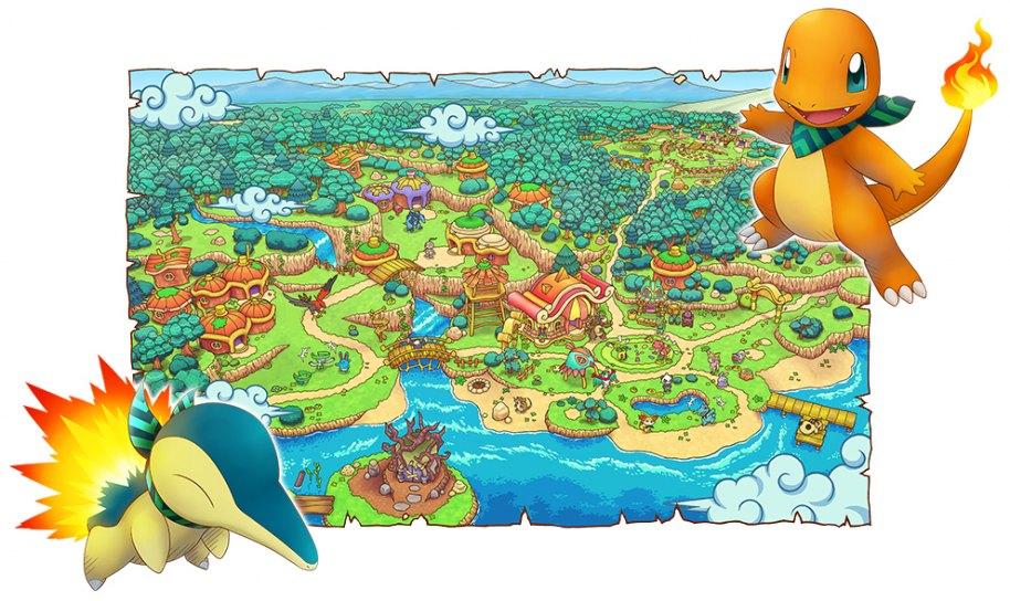 Pokémon Mundo Megamisterioso 3DS