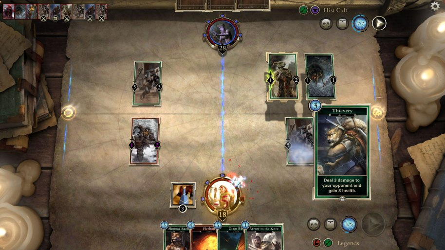 The Elder Scrolls Legends análisis