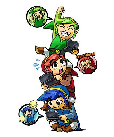 Zelda Tri Force Heroes: Zelda Tri Force Heroes: Pura diversión cooperativa para 3DS