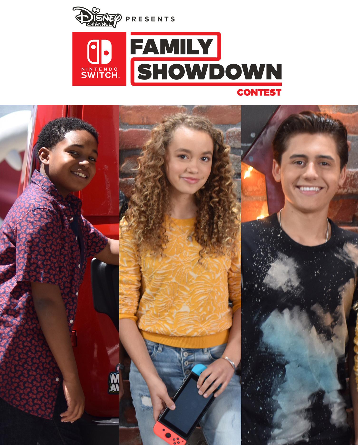Nintendo y Disney se unen en el programa Disney Family Showdown
