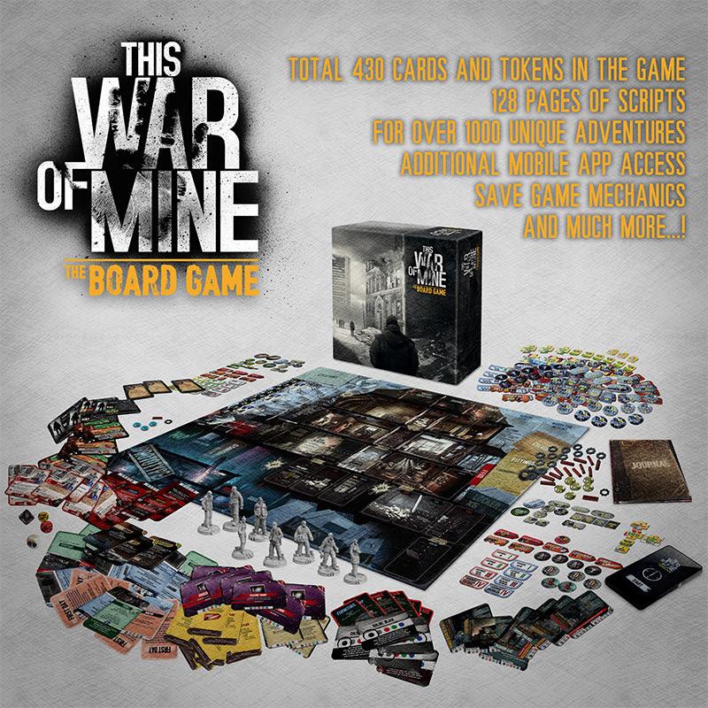 This War of Mine adapta su acción a un juego de mesa que ya triunfa en Kickstarter