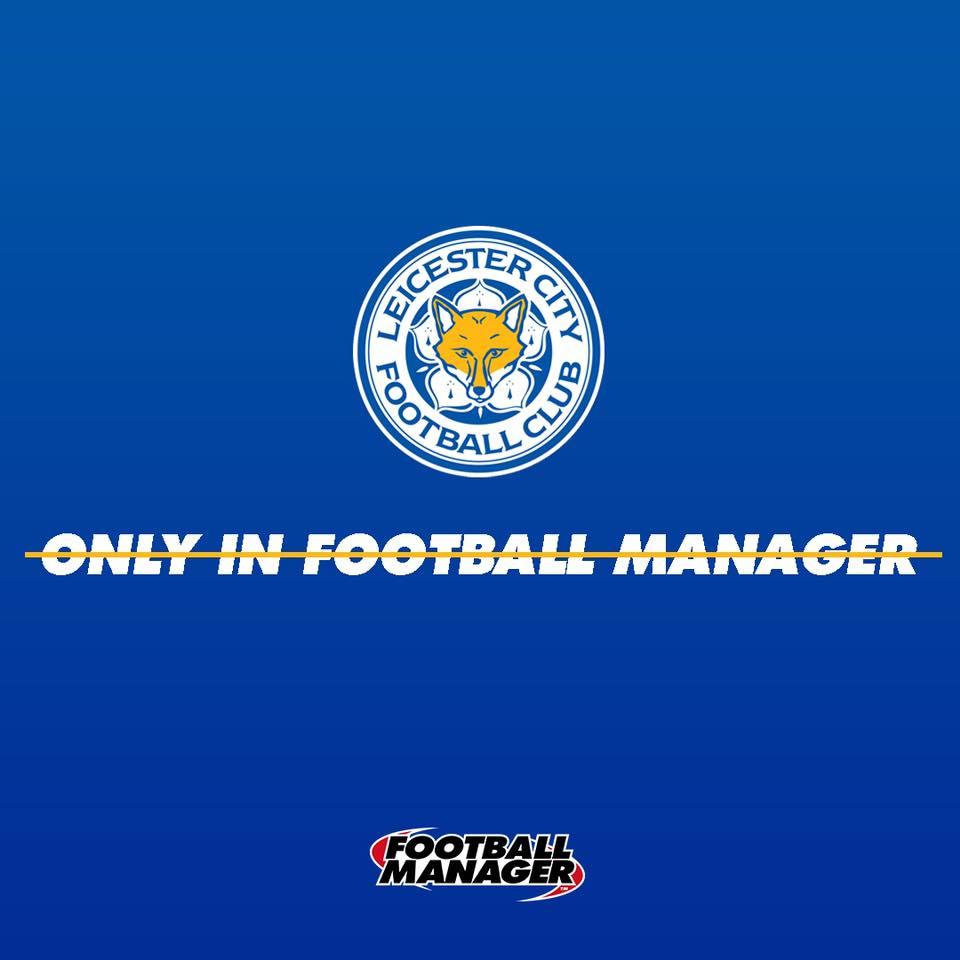 ¿Solo podía pasar en Football Manager? La curiosa felicitación de Sega al Leicester City