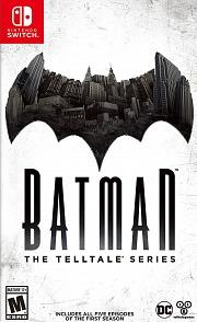 Carátula de Batman - The Telltale Series - Nintendo Switch