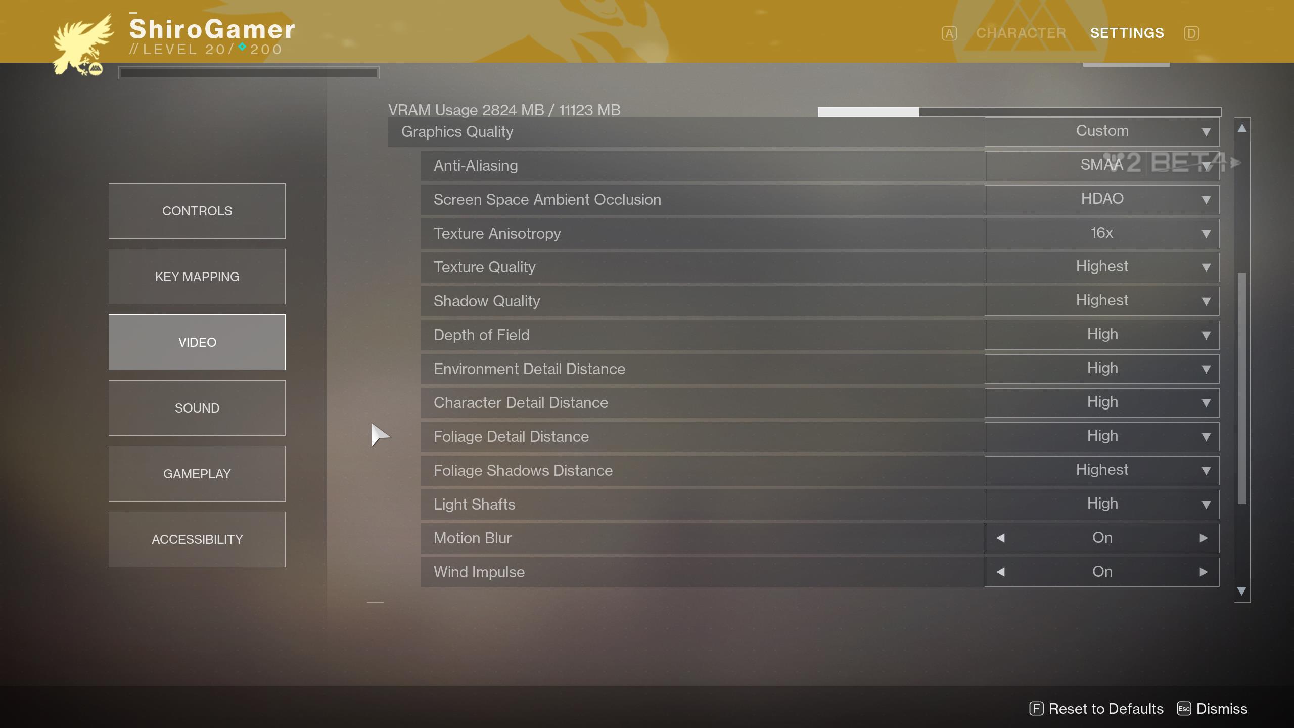 Destiny 2: Así son las opciones gráficas de la versión PC