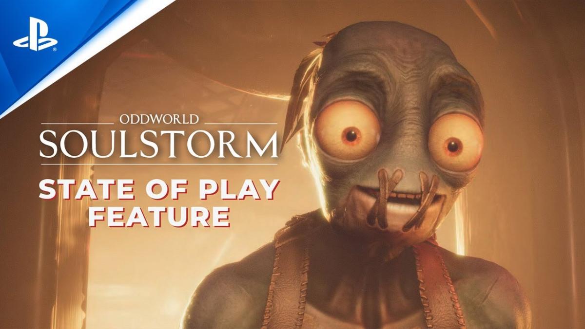 Tráiler y fecha de lanzamiento de Oddworld: Soulstorm con motivo del State of Play de Sony