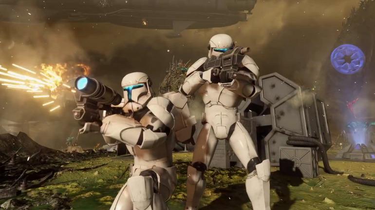 Image tirée de Star Wars: Battlefront 2