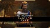 Tráiler de lanzamiento y contenidos de El pack de Babilonia de Civilization VI - New Frontier