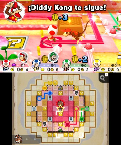 Mario Party Star Rush análisis