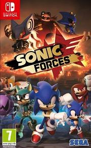 Carátula de Sonic Forces - Nintendo Switch