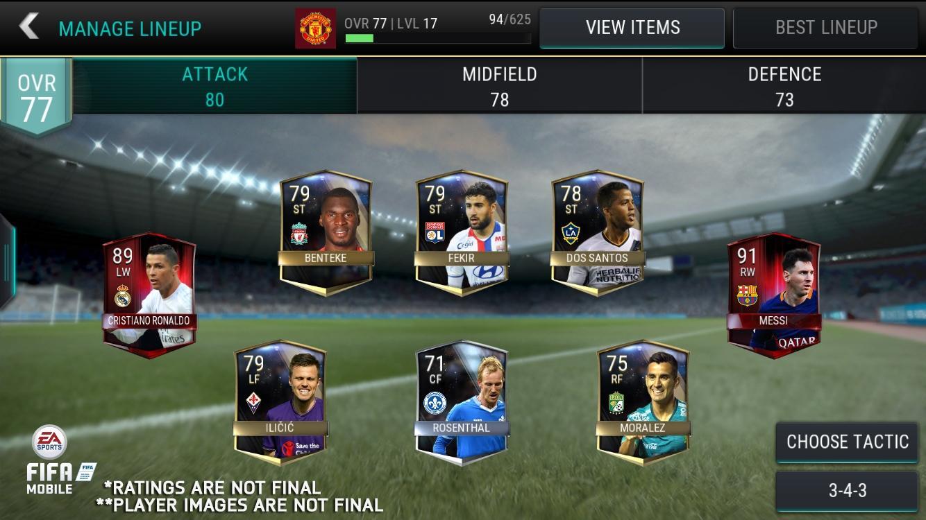 FIFA Mobile es la propuesta de fútbol de EA para móviles iOS, Android y Windows 10