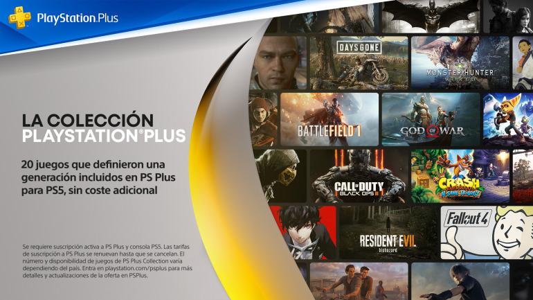 La collection PlayStation Plus donne accès à 20 super jeux vidéo PS4 sur PS5.