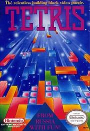 Carátula de Tetris - NES