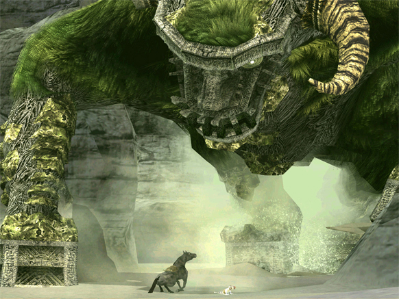 Sigue en marcha la película de Shadow of the Colossus
