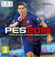 Carátula de PES 2018 - PC