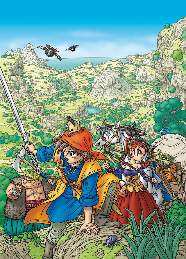 La saga Dragon Quest, camino de los dispositivos móviles