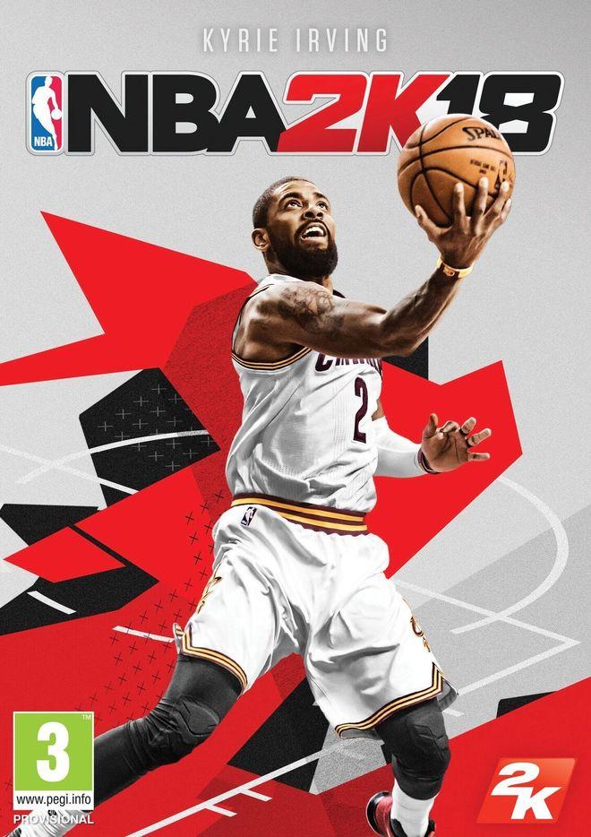 La portada de NBA 2K18 estará protagonizada por Kyrie Irving