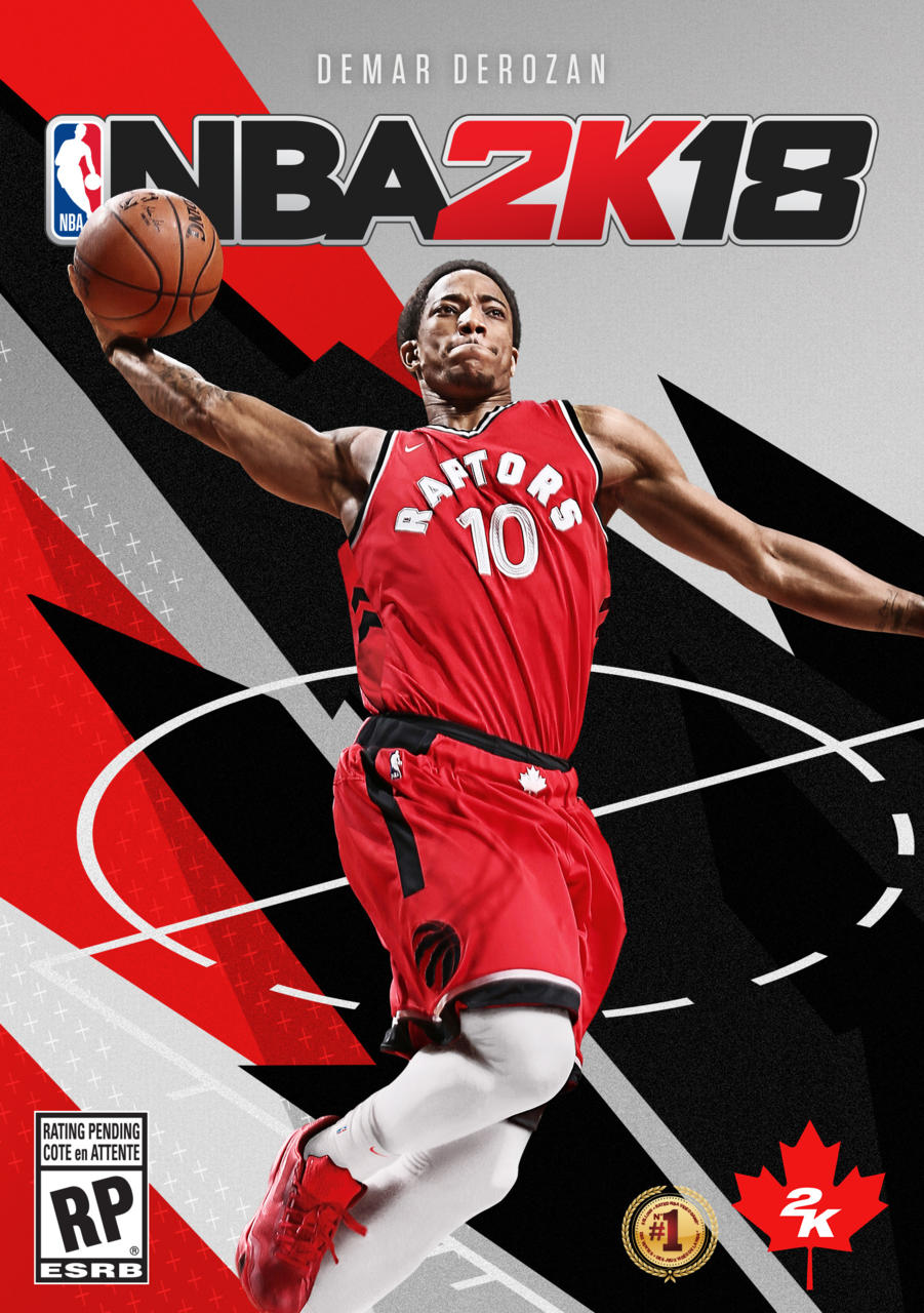 NBA 2K18 contará con una portada alternativa en tierras canadienses