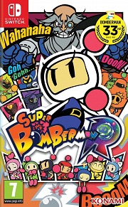 Carátula de Super Bomberman R - Nintendo Switch