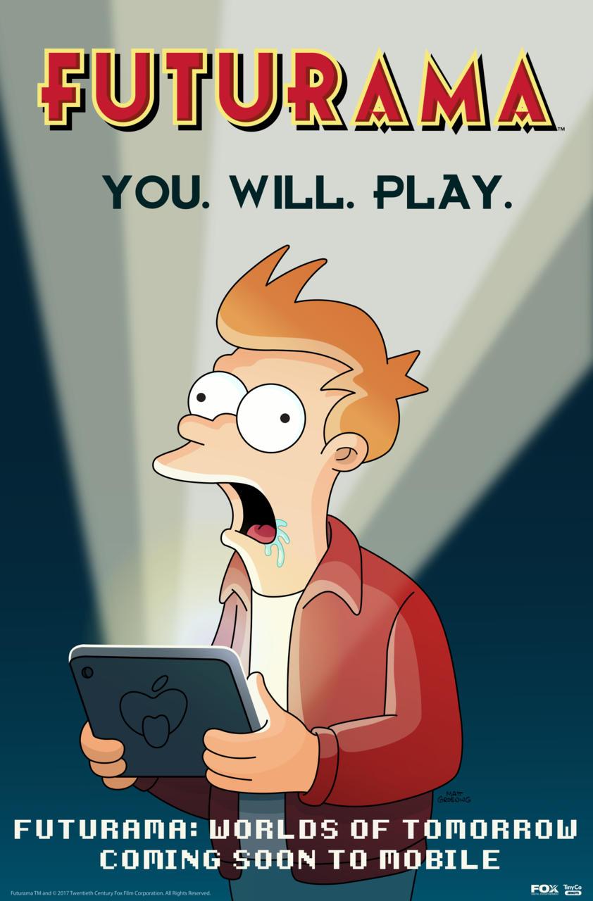 Anunciado un nuevo juego de Futurama para móviles